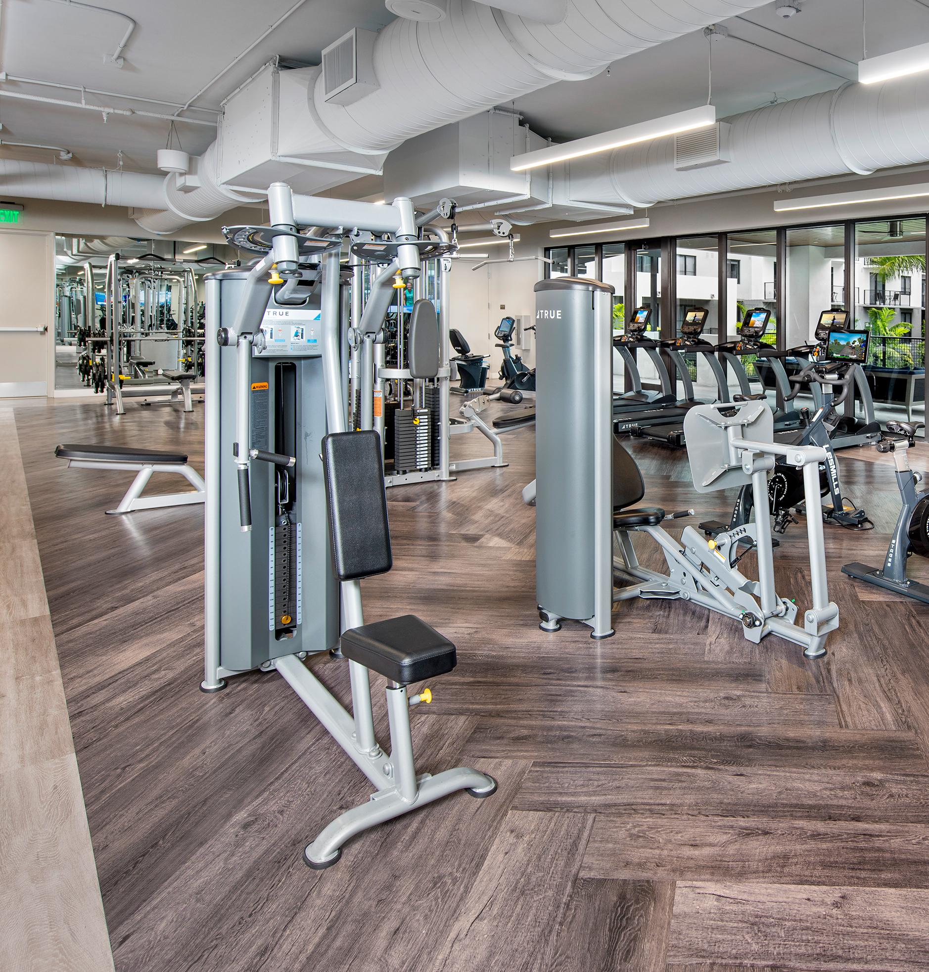 Gym at Sanctuary Doral