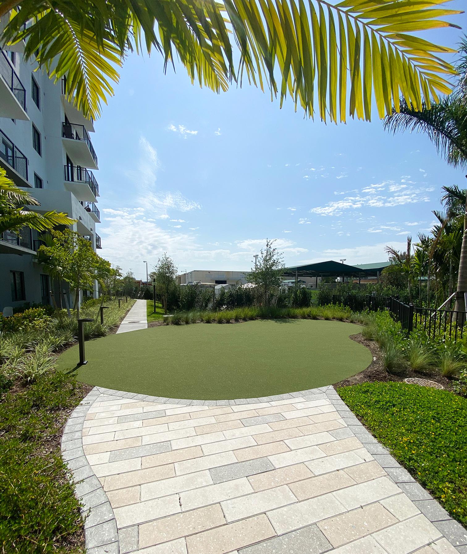 Yoga Lawn at Sanctuary Doral