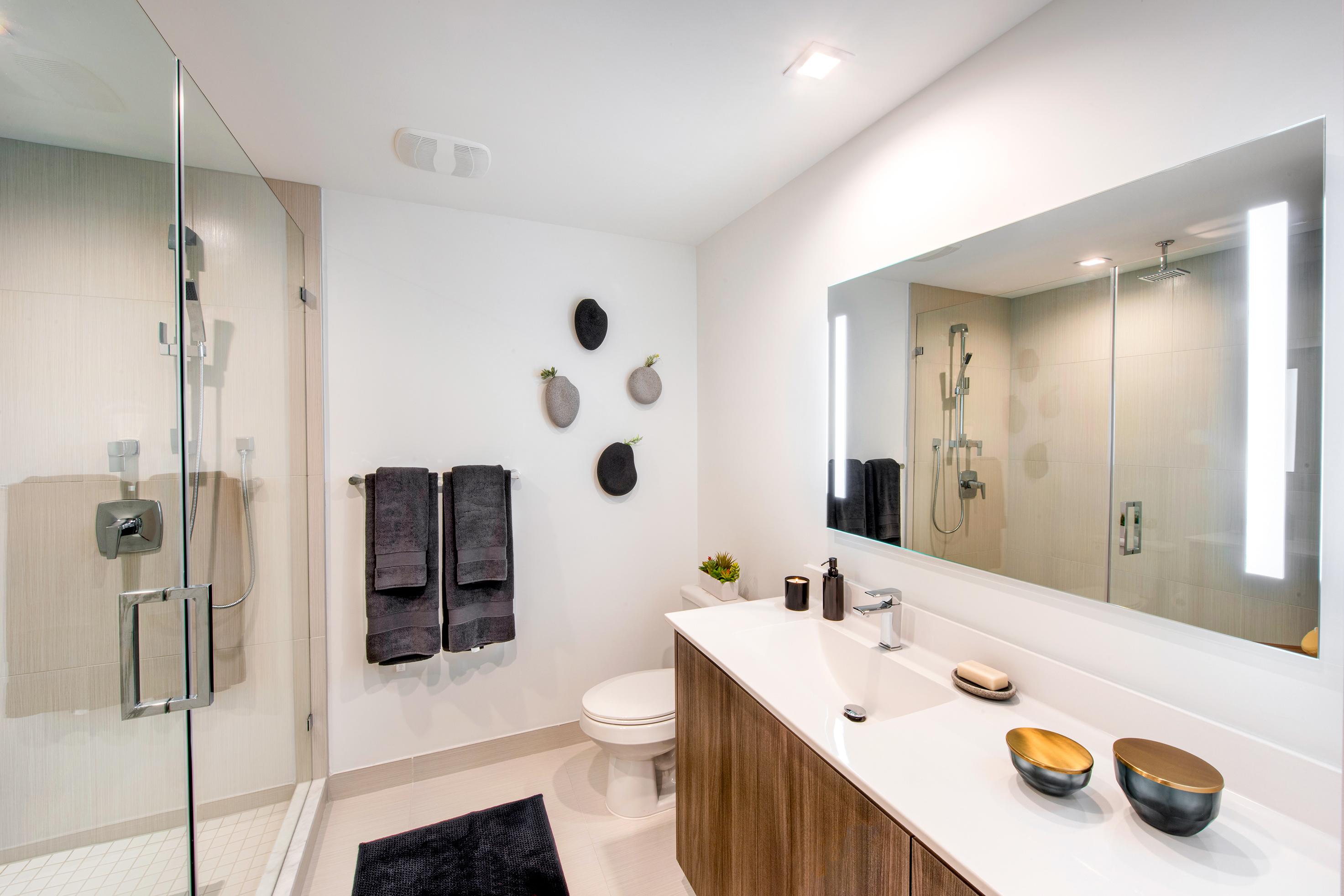 Shower Bathroom at Sanctuary Doral