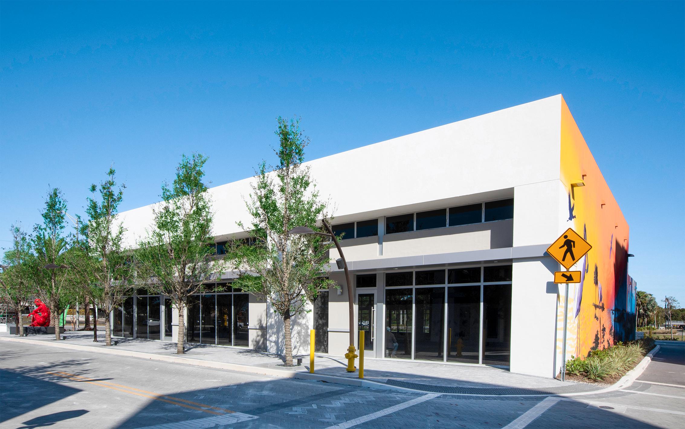 Retail stores at Sanctuary Doral