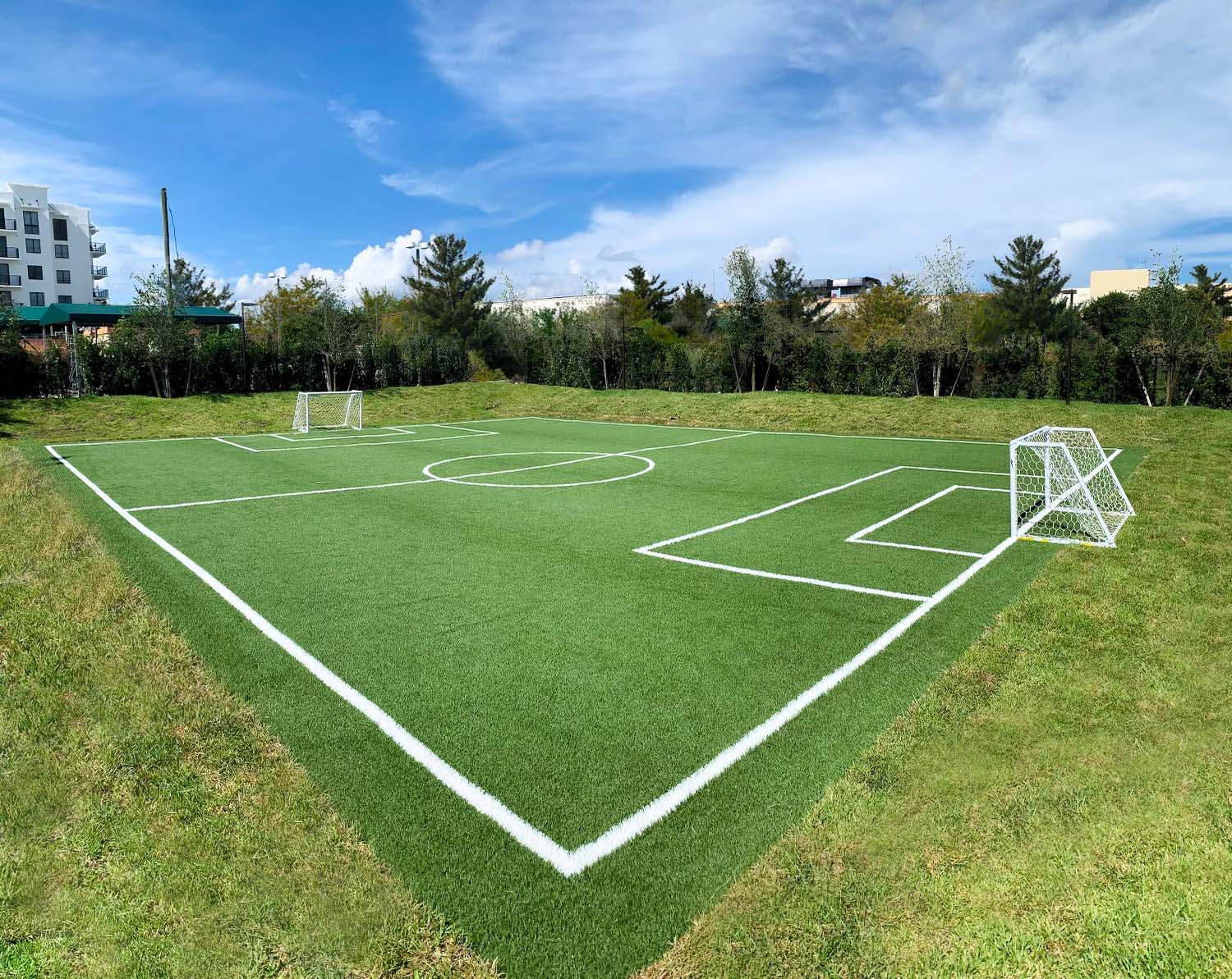 Field for Soccer at sanctuary