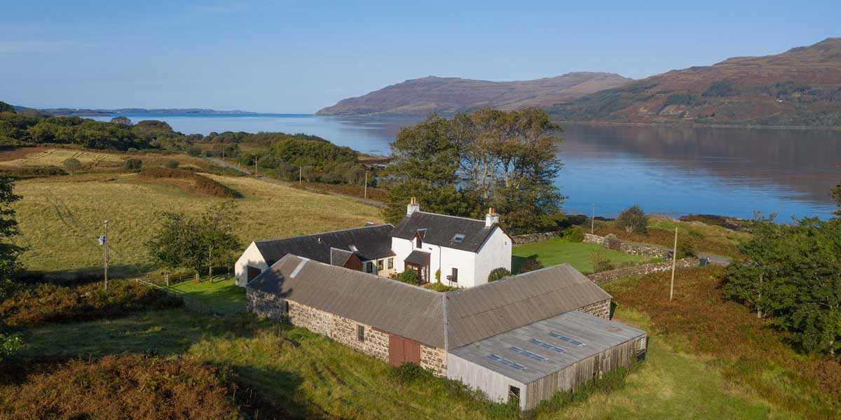 Killunaig self catering on the Isle of Mull, Scotland
