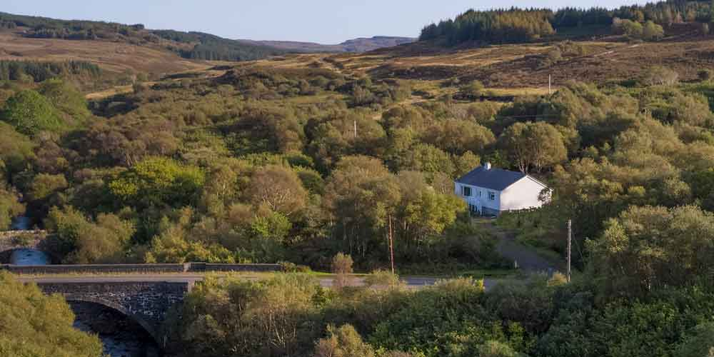 Beach Cottage self catering on the Isle of Mull, Scotland