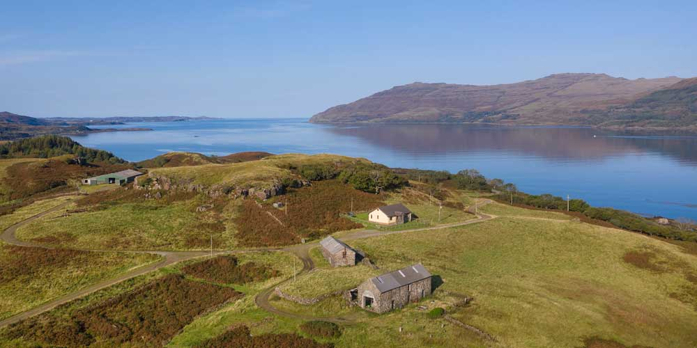 Torrans self catering on the Isle of Mull, Scotland