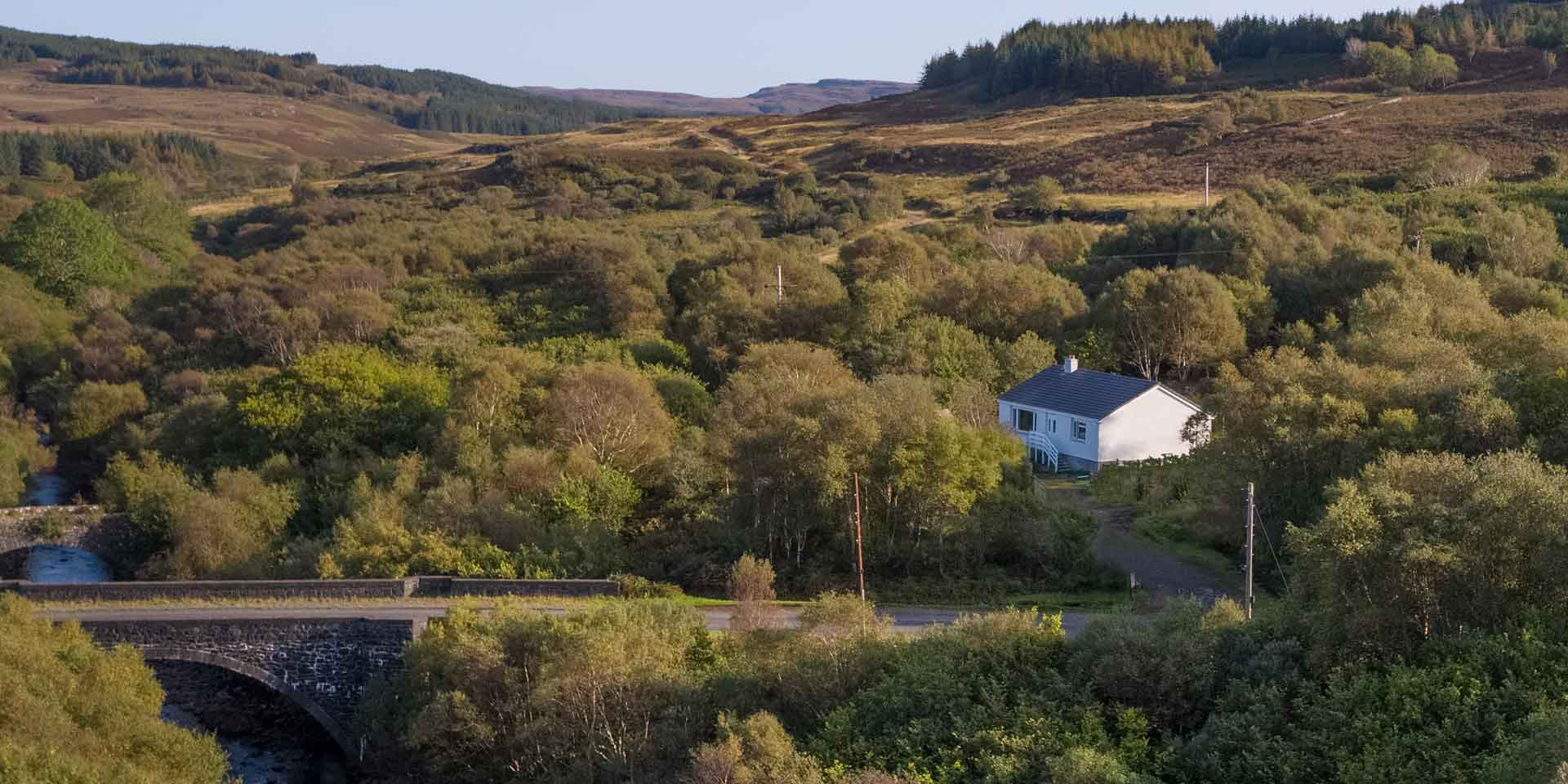 Beach cottage - Pennyghael Estate self catering on the Isle of Mull, Scotland
