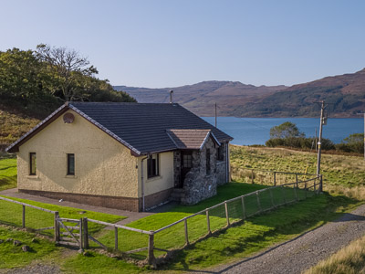 Torrans self catering accommodation on Mull