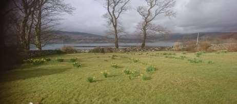 View from Killunaig Farmhouse