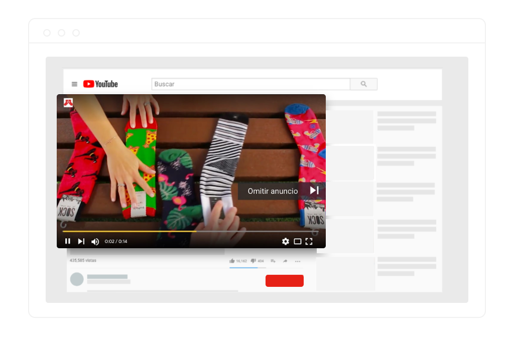 anuncios de video en youtube