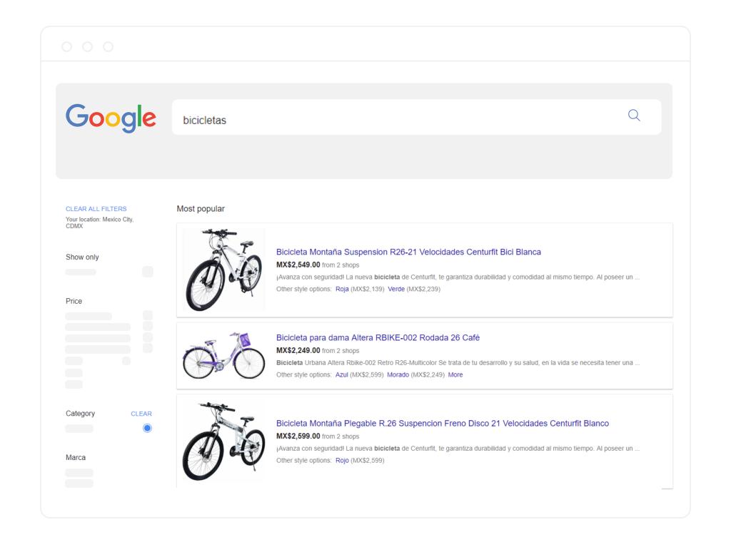 Catálogo Google Shopping
