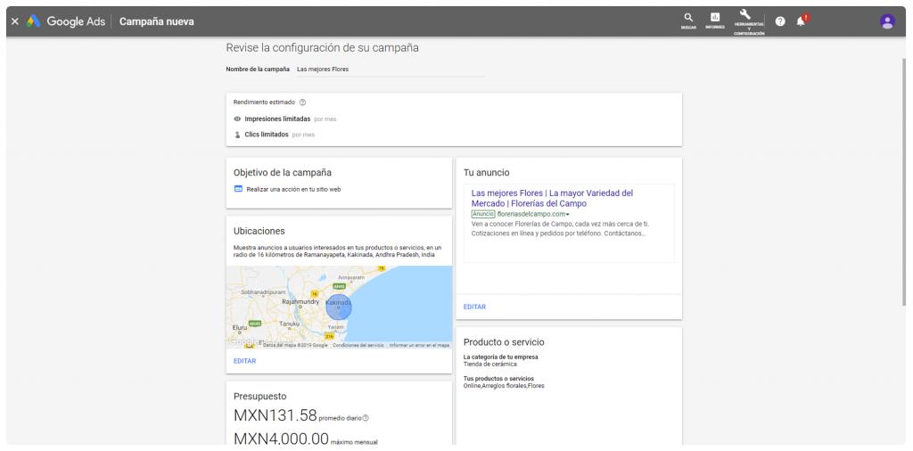 google adwords express es gratis