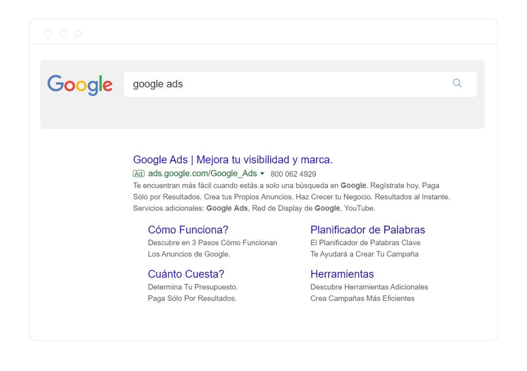 Google ads mejora la visibilidad de tu marca