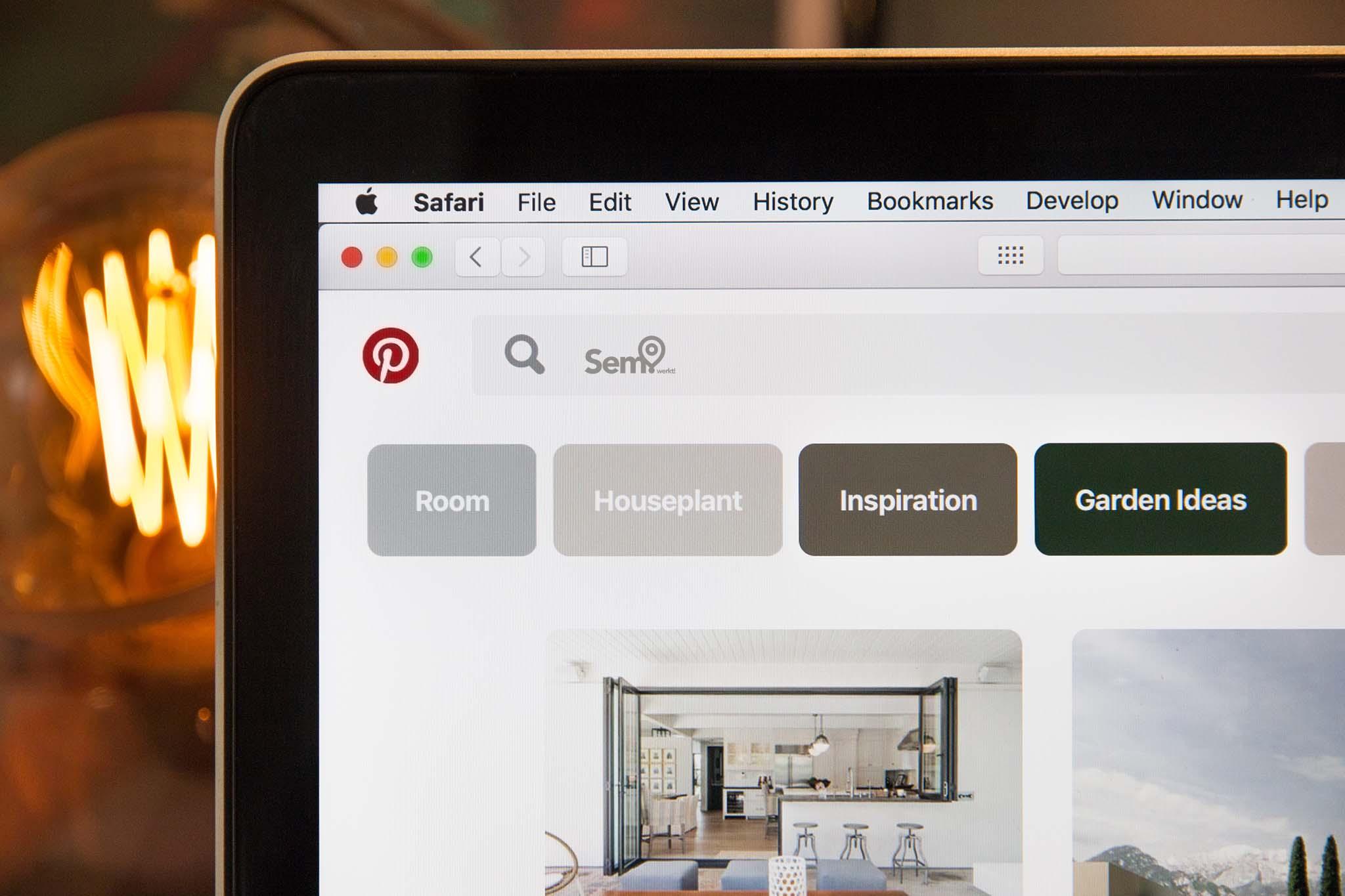 Voorbeeld betaalde advertentie Apple