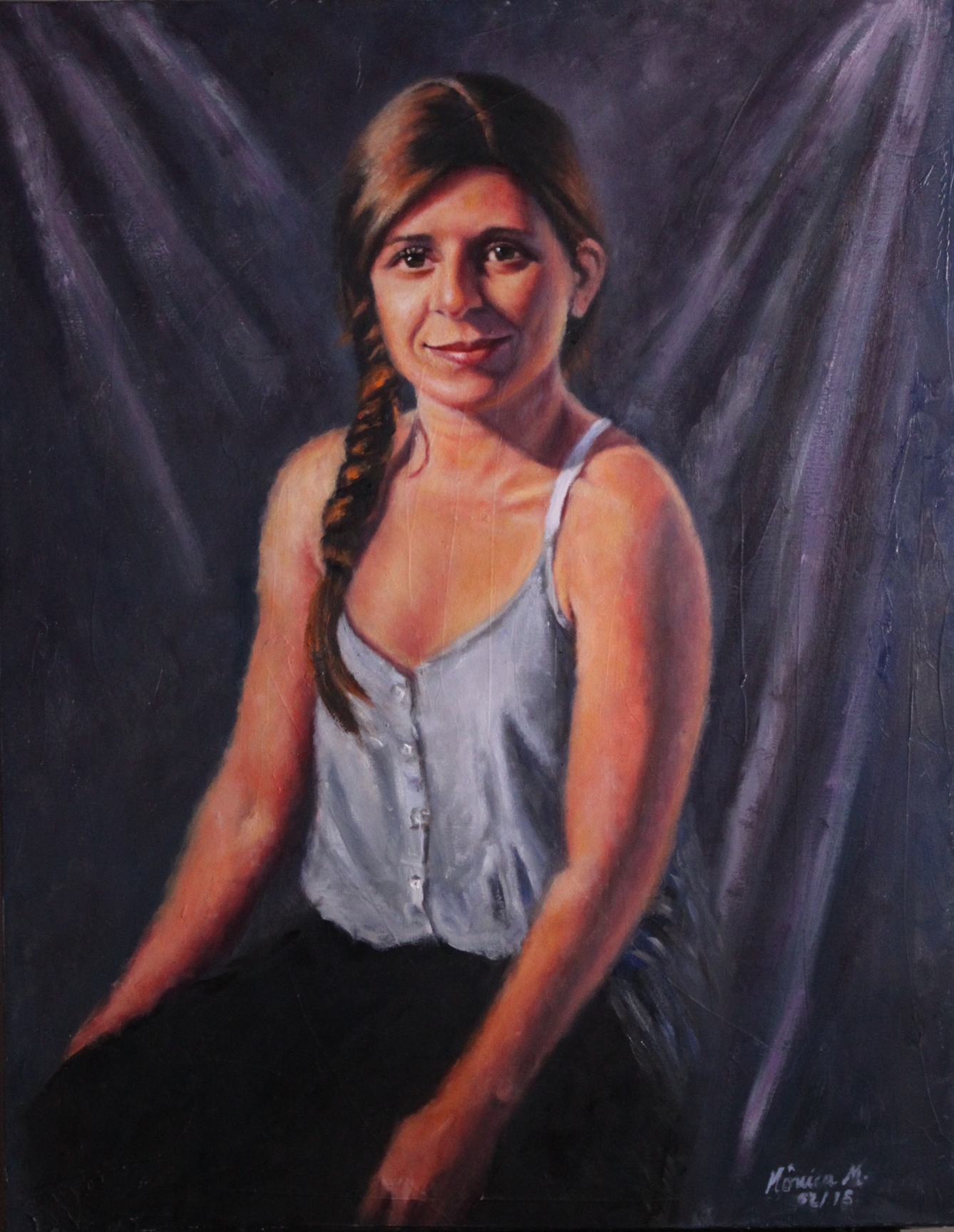 Carolina - Oil on canvas