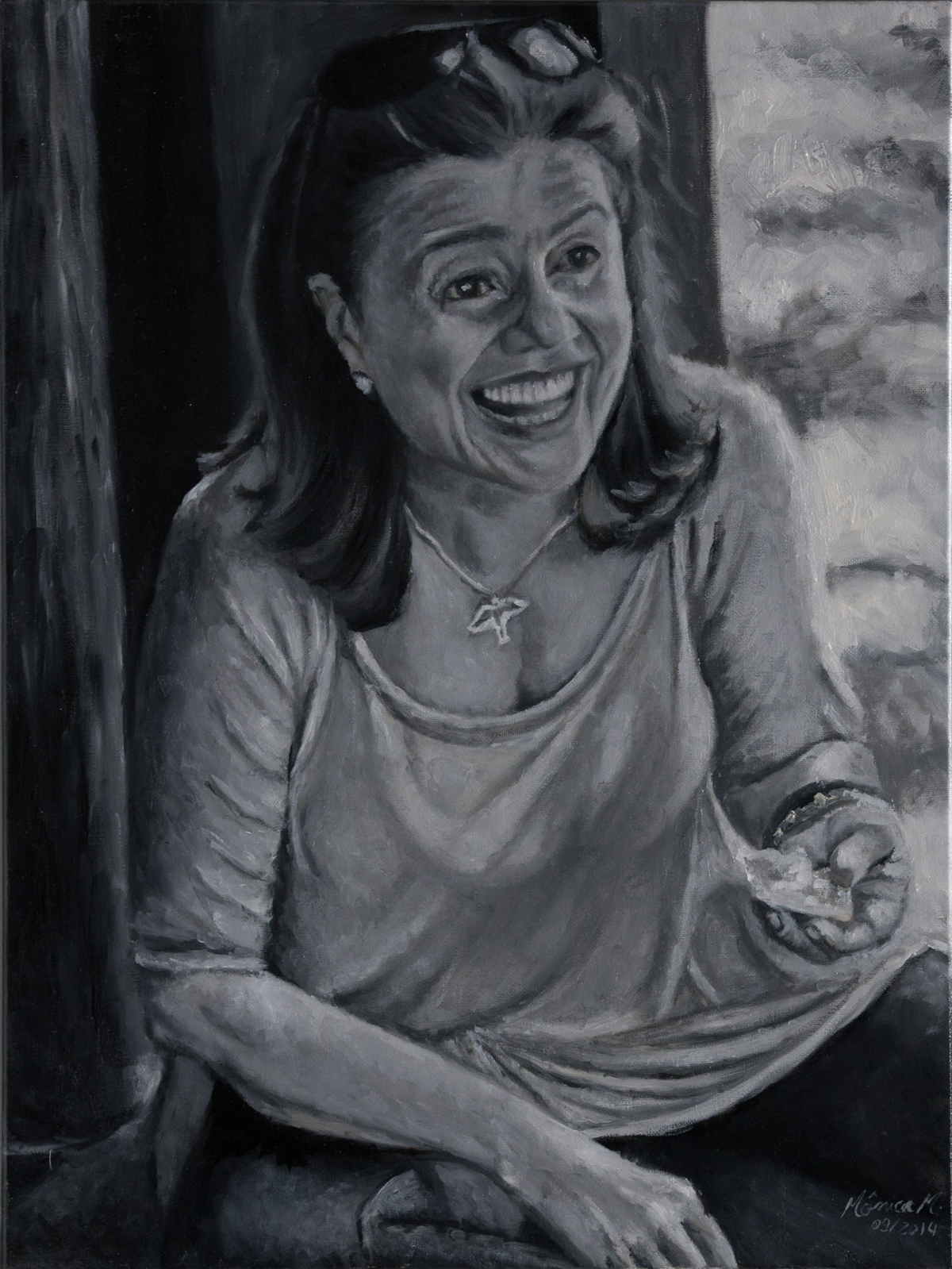 Constancinha - Oil on canvas