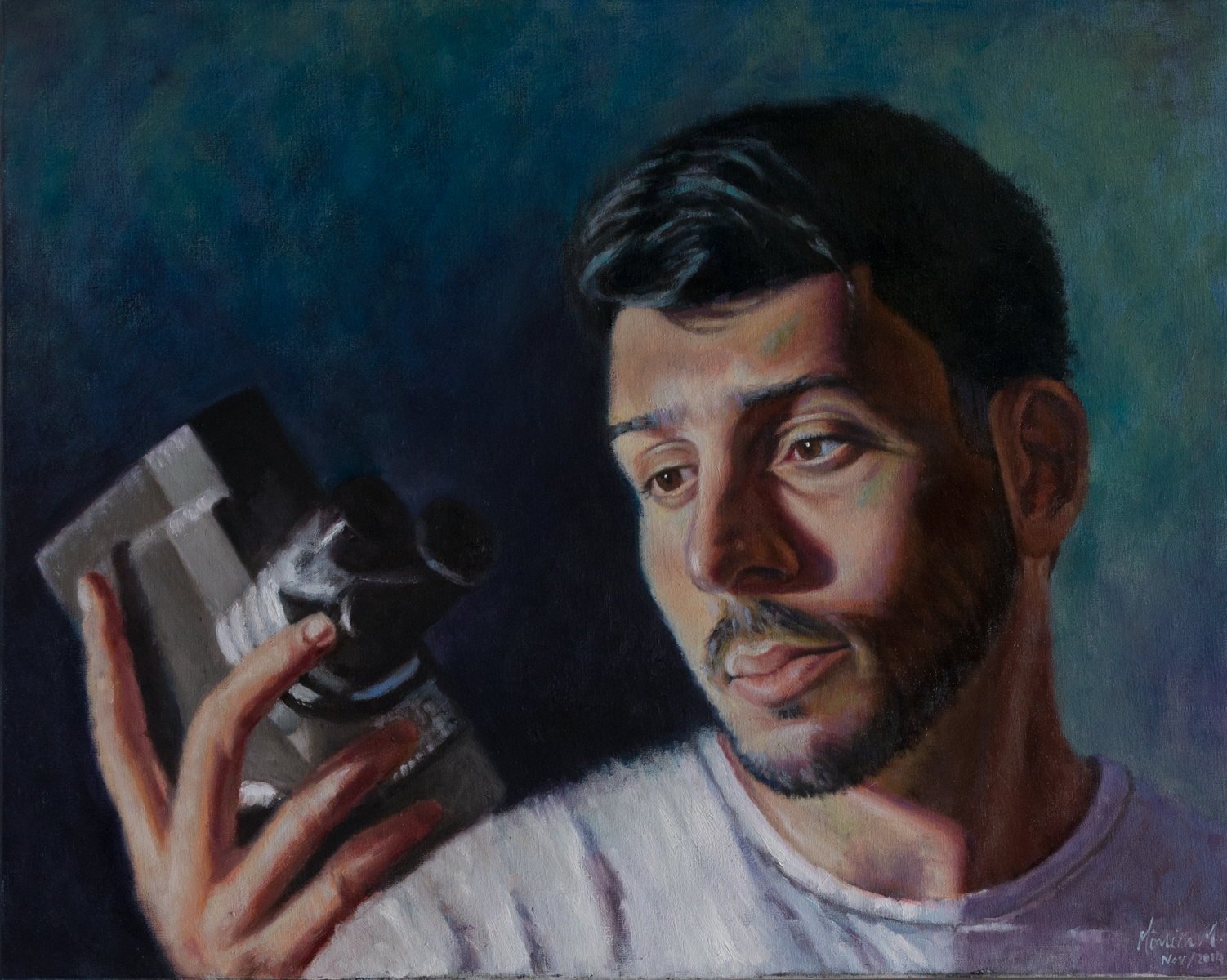 Felipe - Oil on canvas