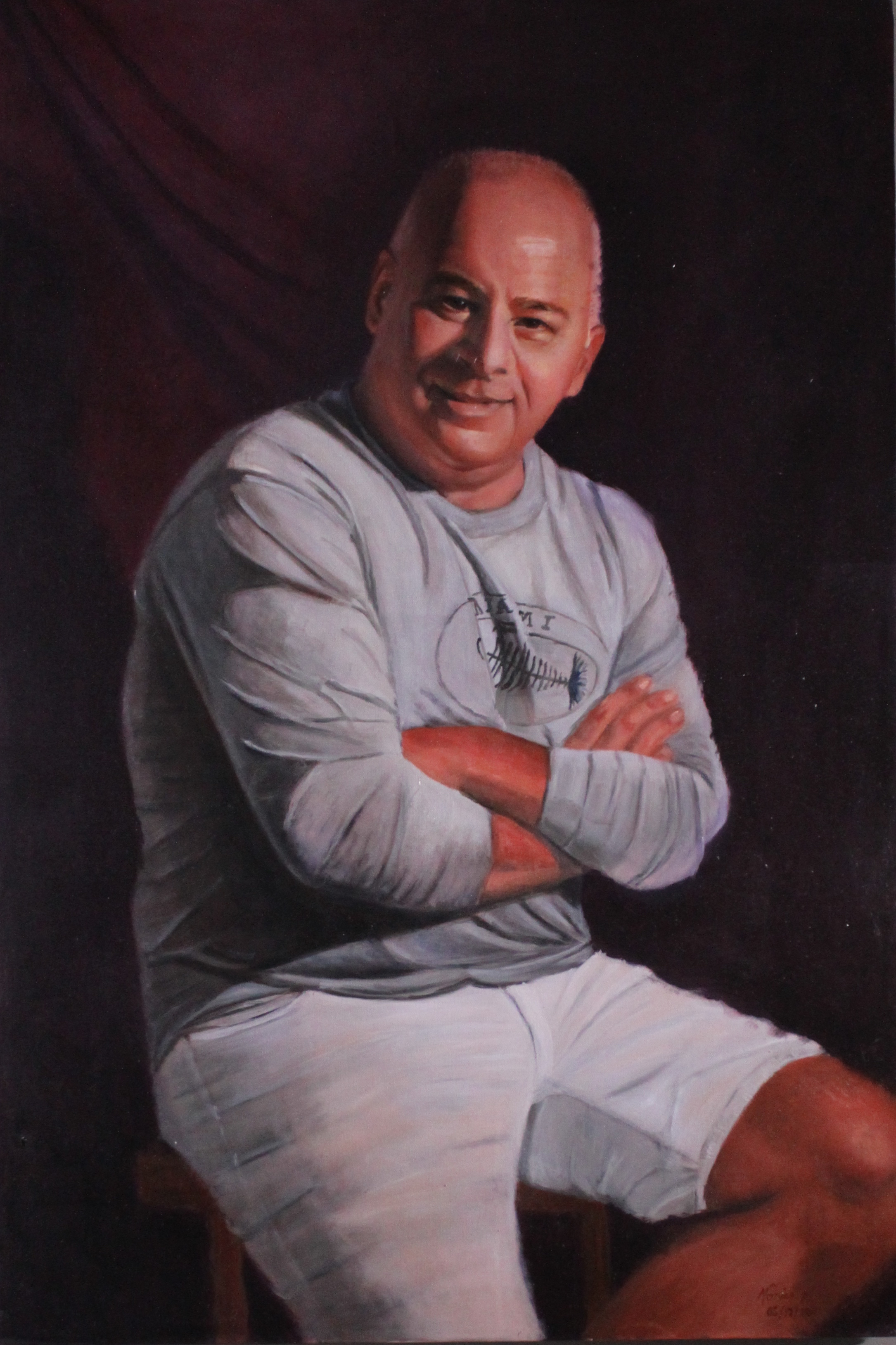 Gilberto - Oil on canvas