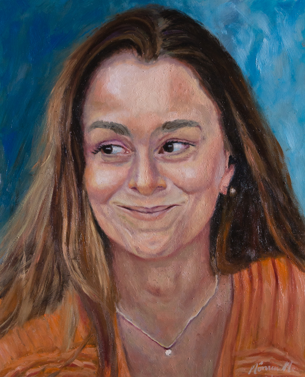 Iracema - Oil on canvas