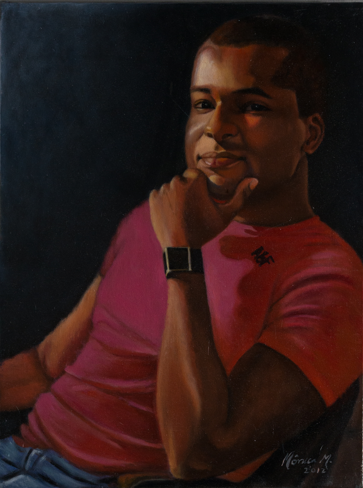 Junior - Oil on canvas