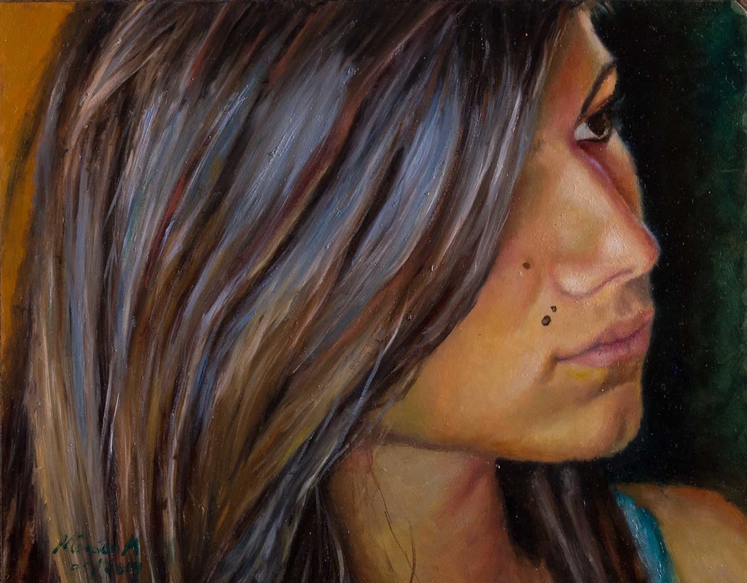 Marcela -  Oil on canvas