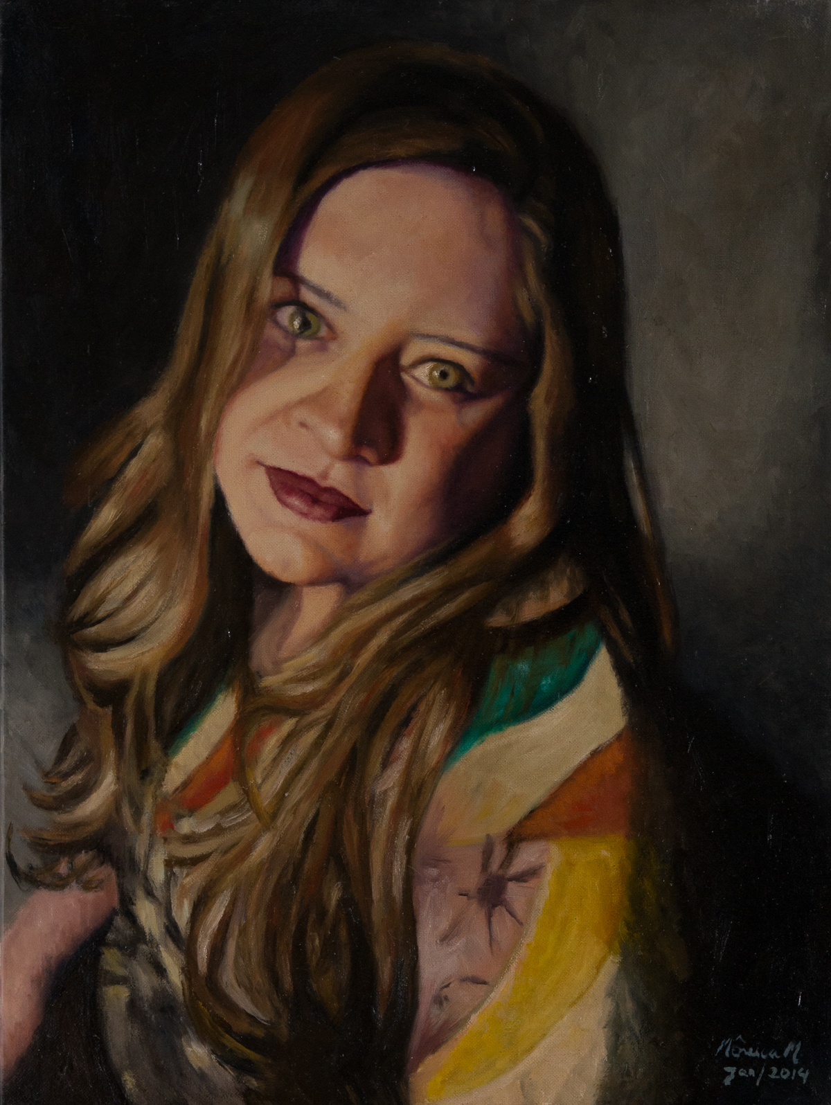 Marcella - Oil on canvas