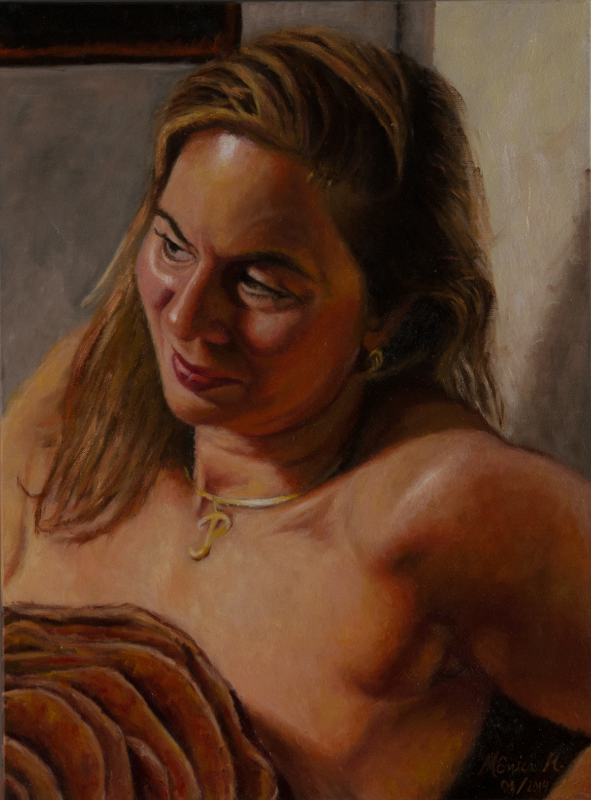 Patricia - Oil on canvas
