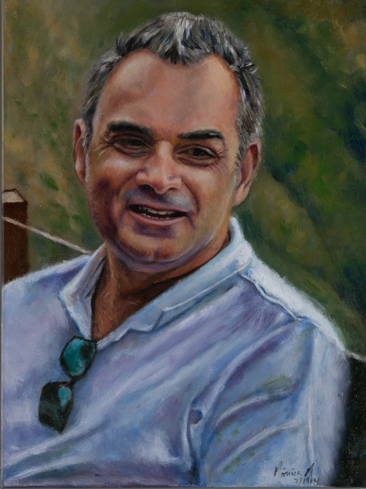 Rodrigo - Oil on canvas