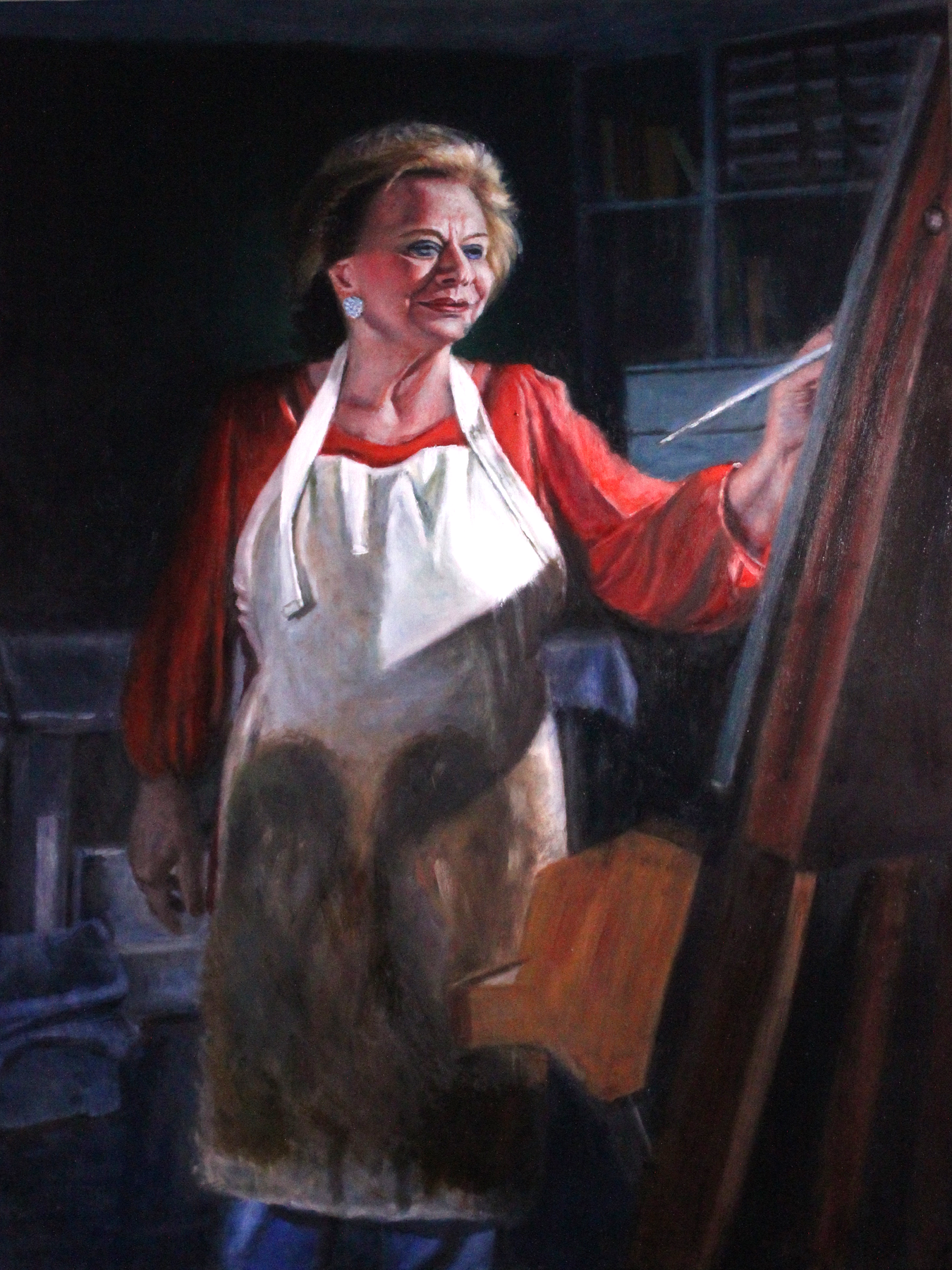 """Inspiration - 30"""" x 40"""" - Oil on canvas"""