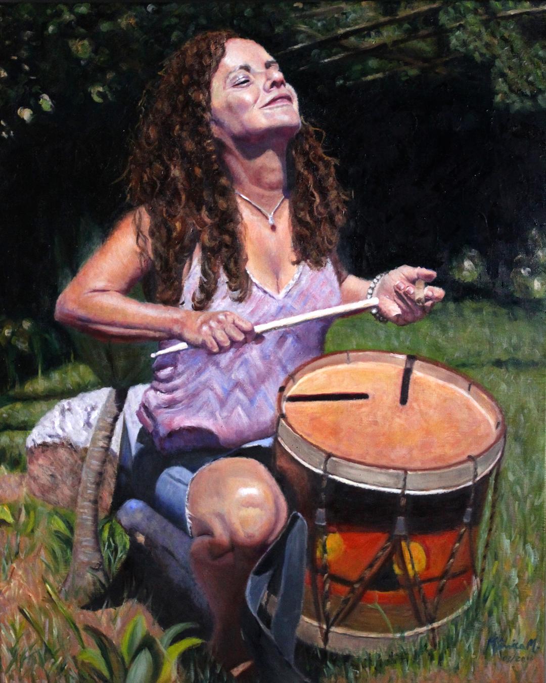 "Pure Joy - 24"" x 30"" - Oil on canvas"