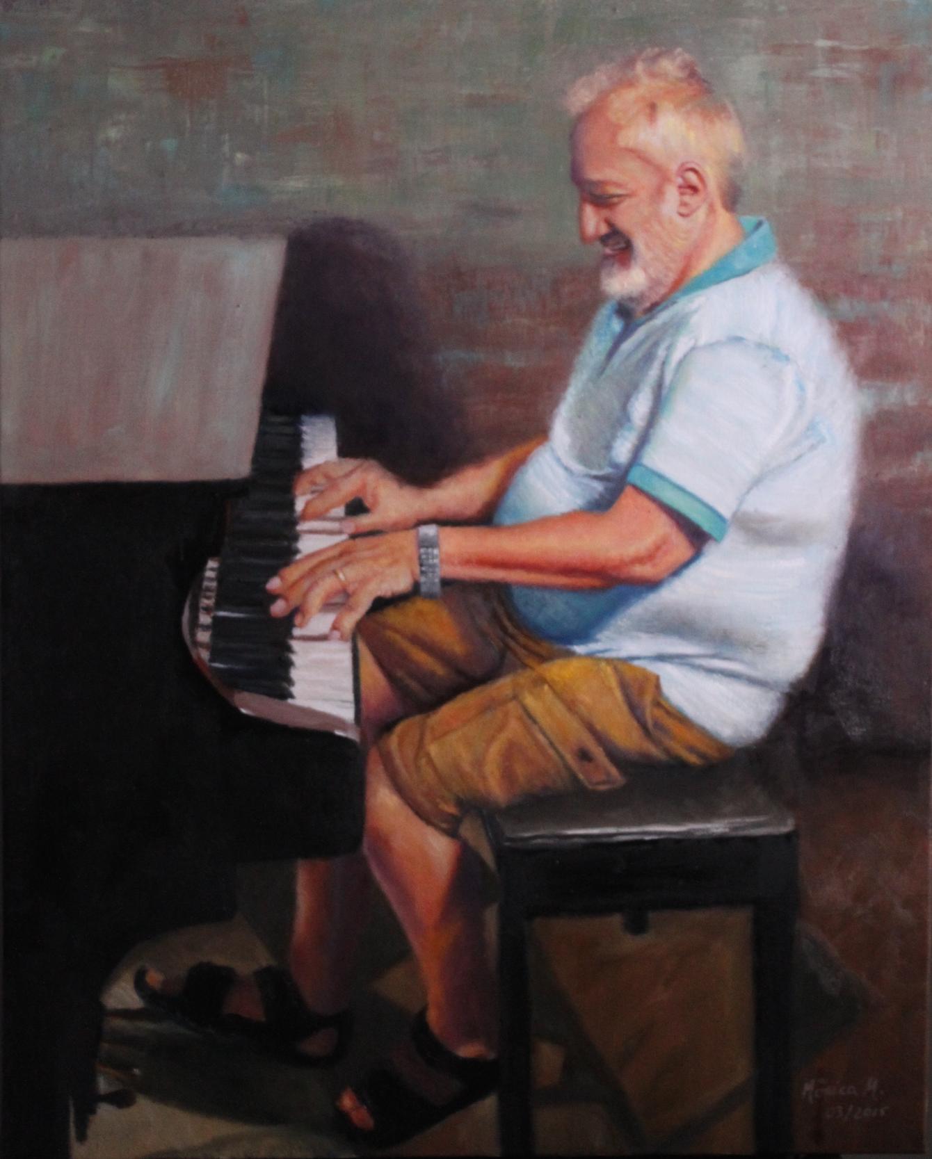 "Sensibility -  24"" x 30"" - Oil on canvas"