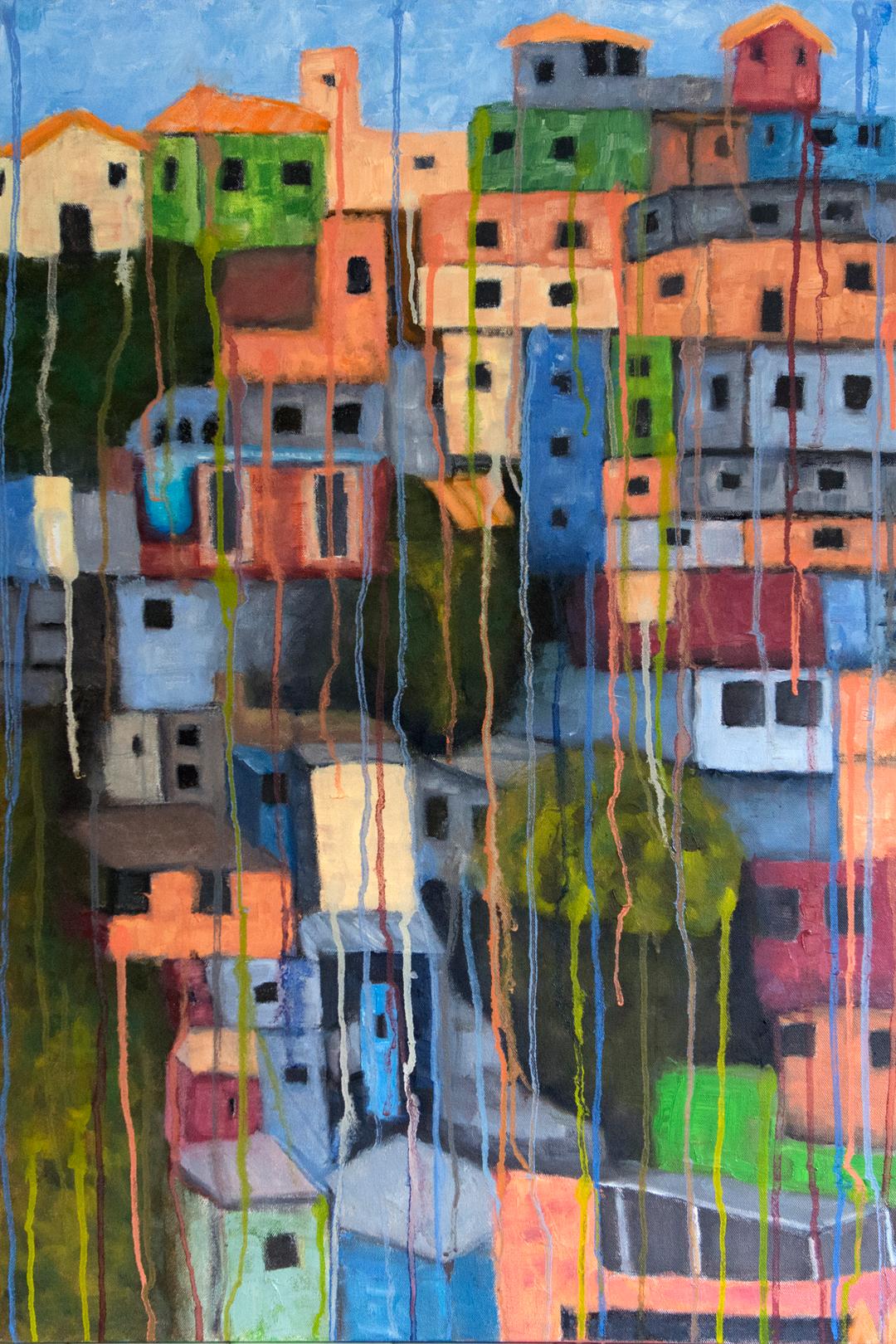 """Morro do Papagaio - 24"""" x 36"""" - Oil on canvas"""