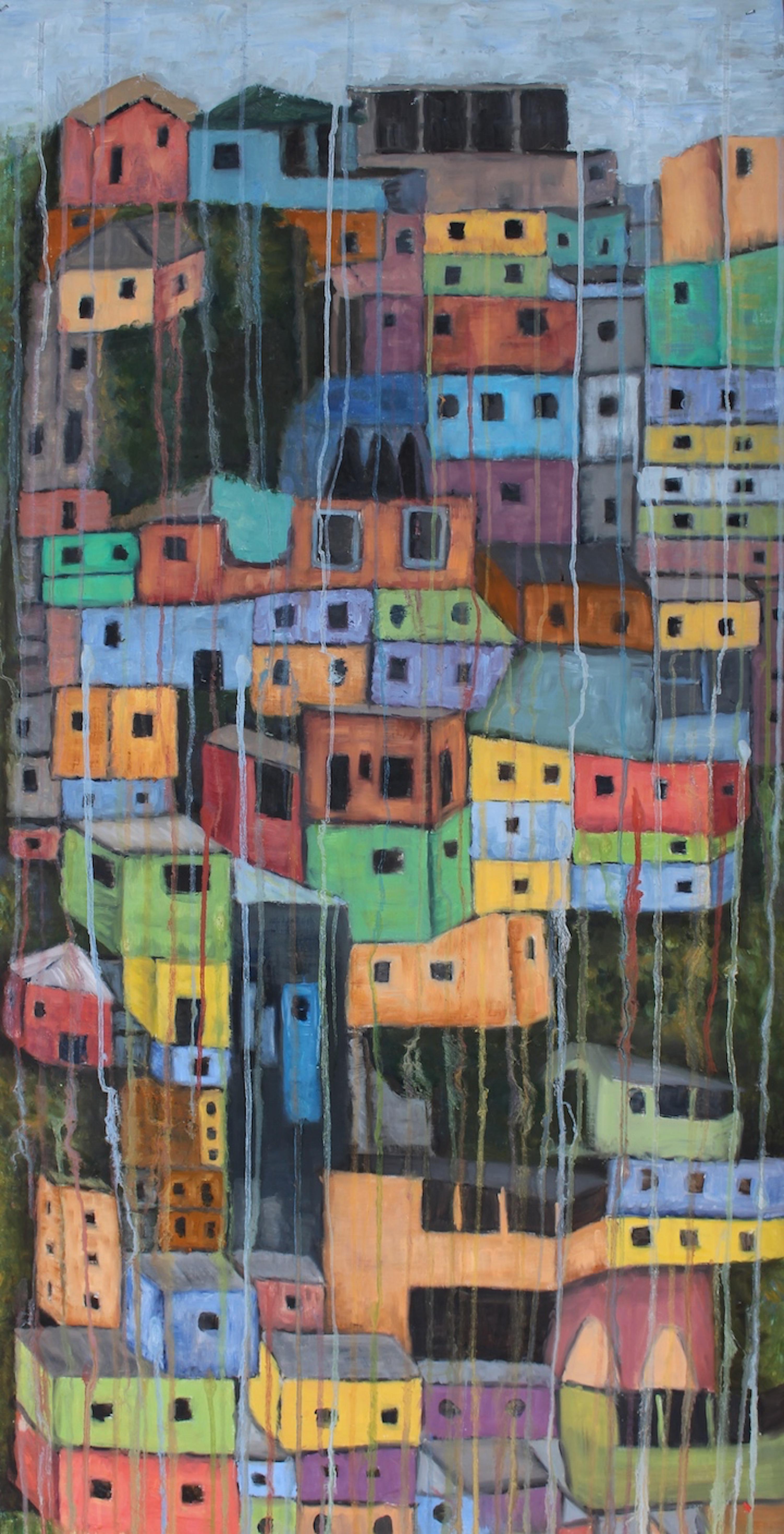 Nosso Morro - Oil on canvas