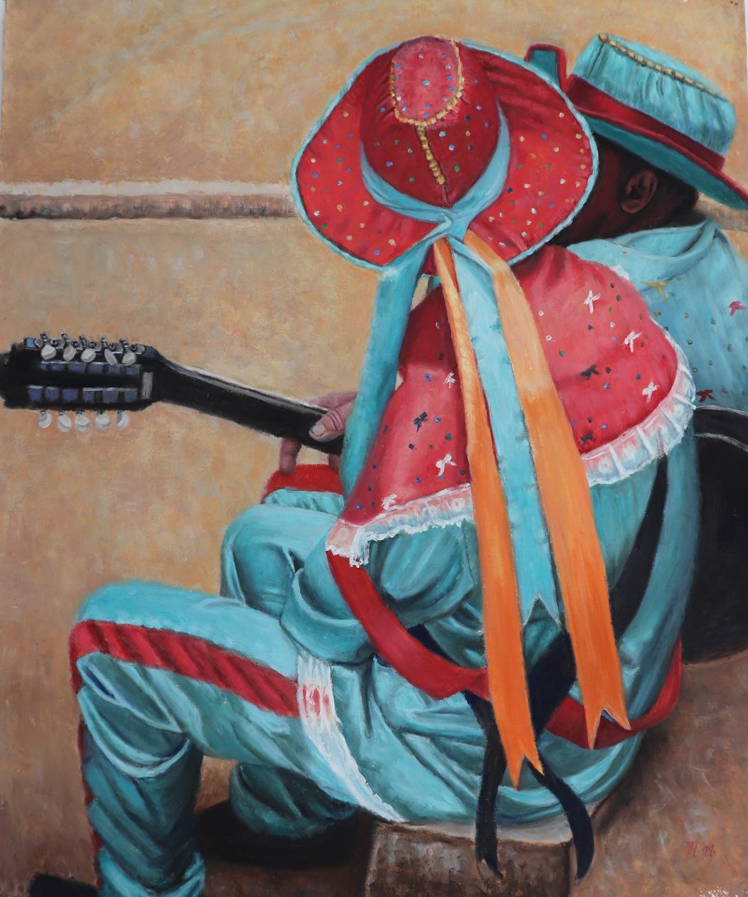 """Marujada - 32"""" x 26"""" - Oil on canvas"""