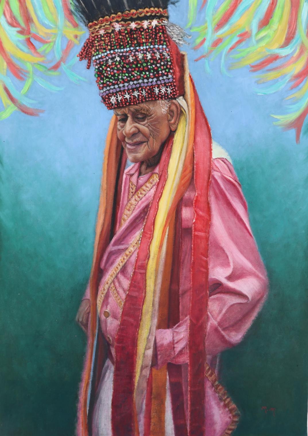 """Mestre Zanza - 40"""" x 28"""" - Oil on canvas"""