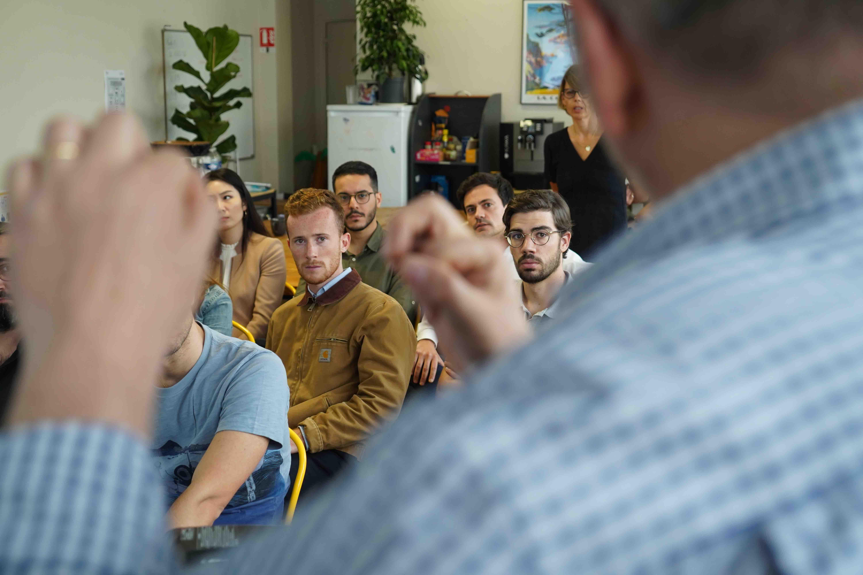 session de conférence en data avec intervenants inspirants