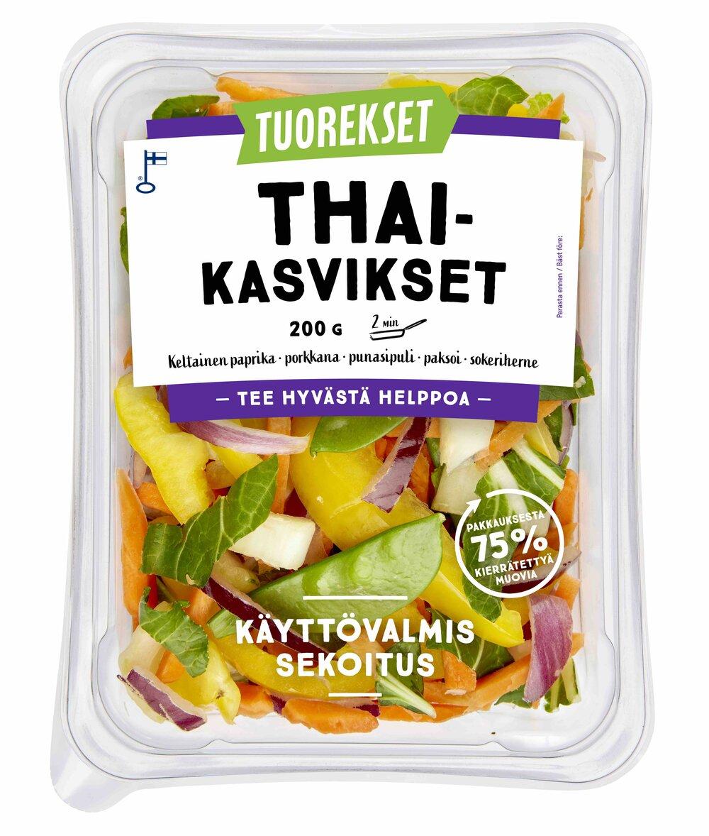 Tuorekset Thai-kasvikset