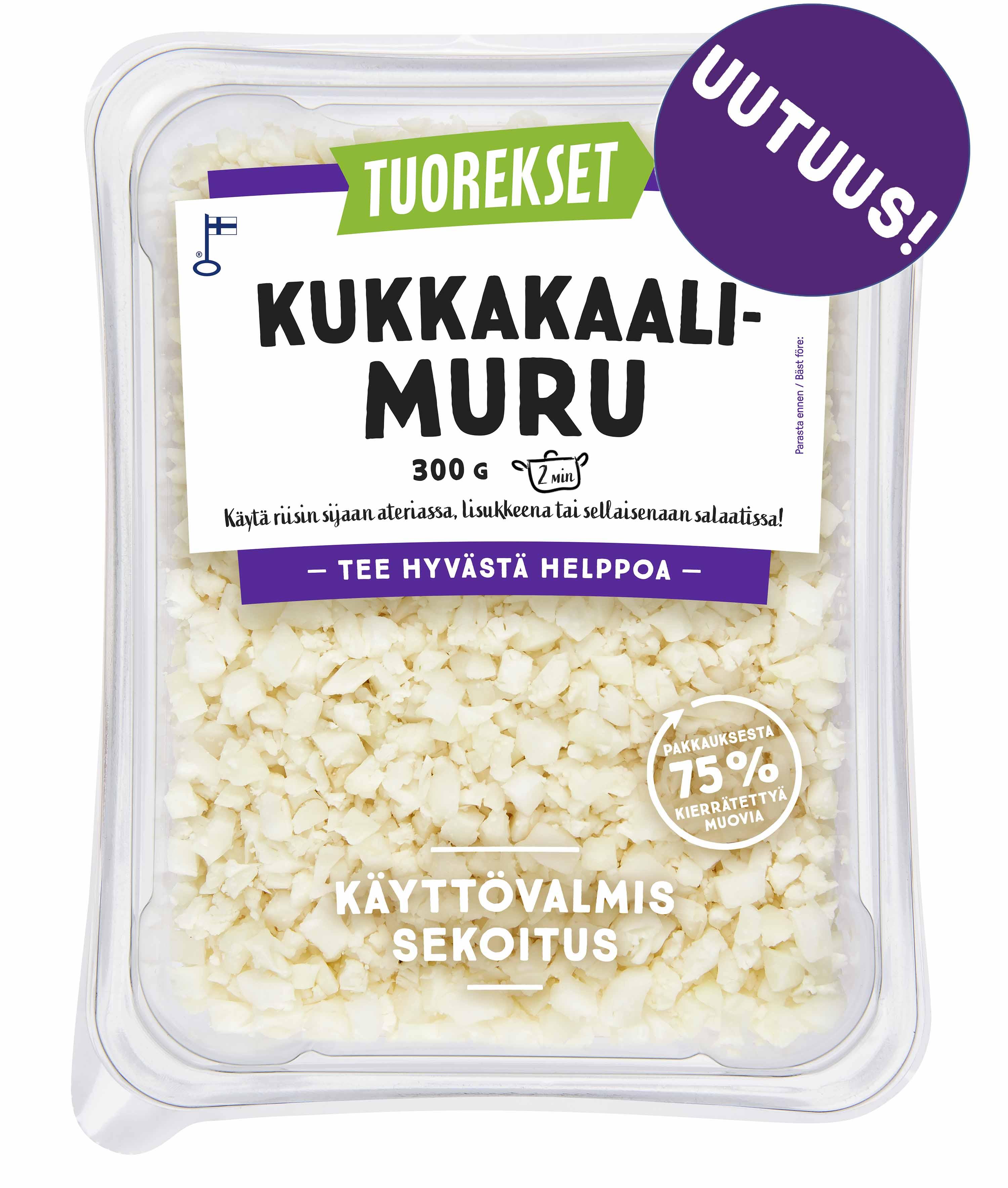 Tuorekset Kukkakaalimuru
