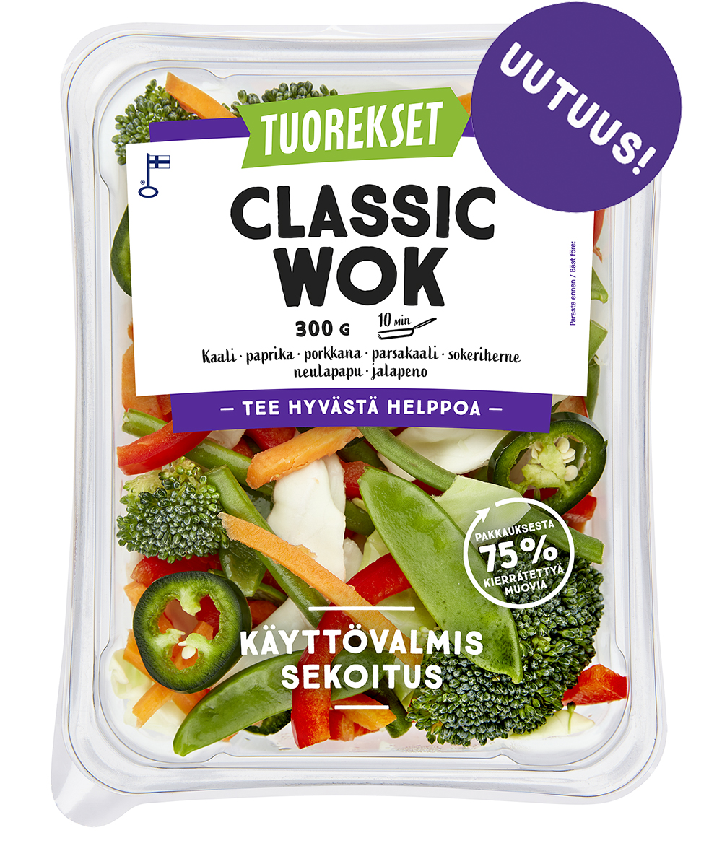 Tuorekset Classic Wok
