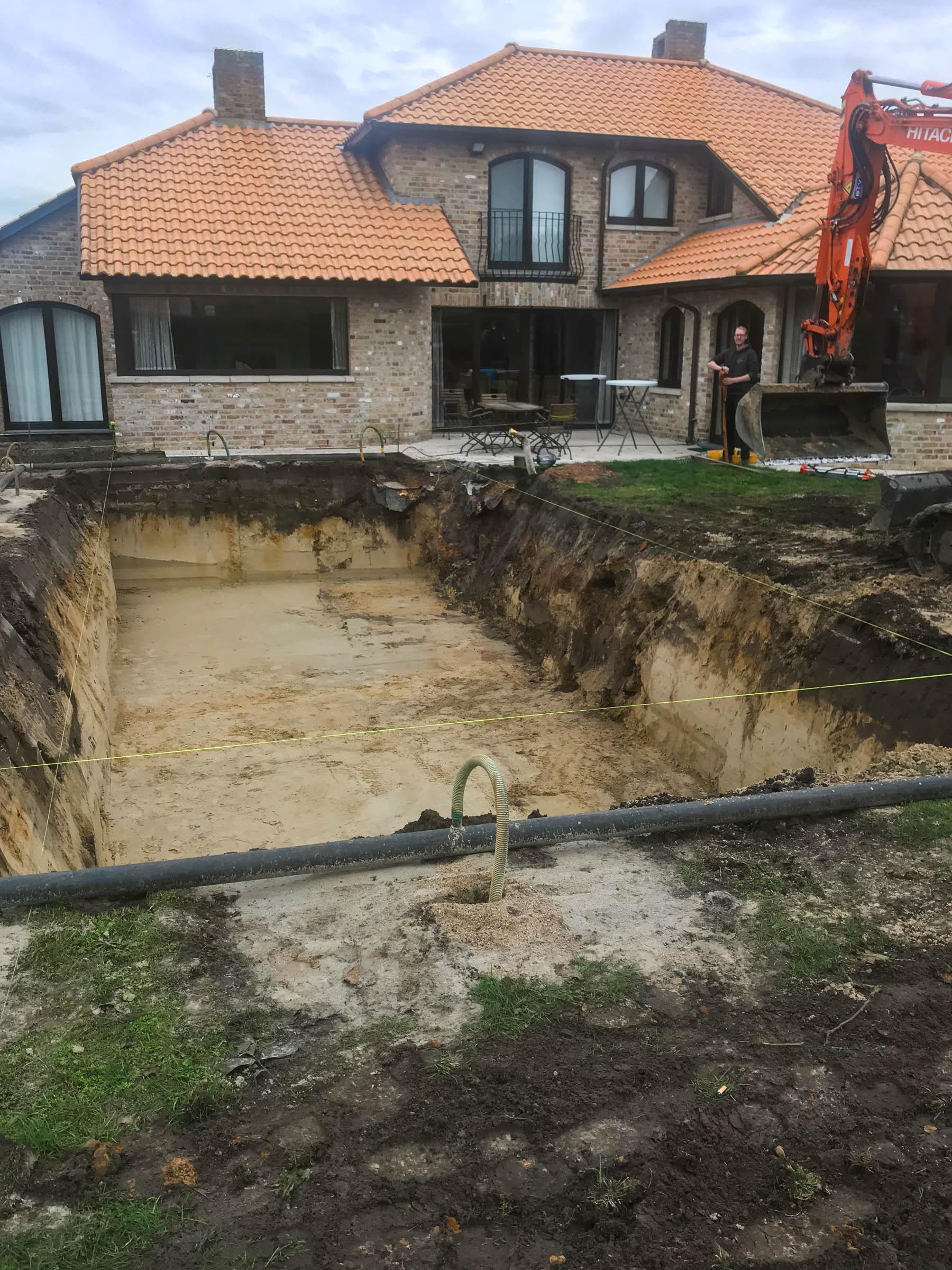 Vijvers graven en uitkuisen
