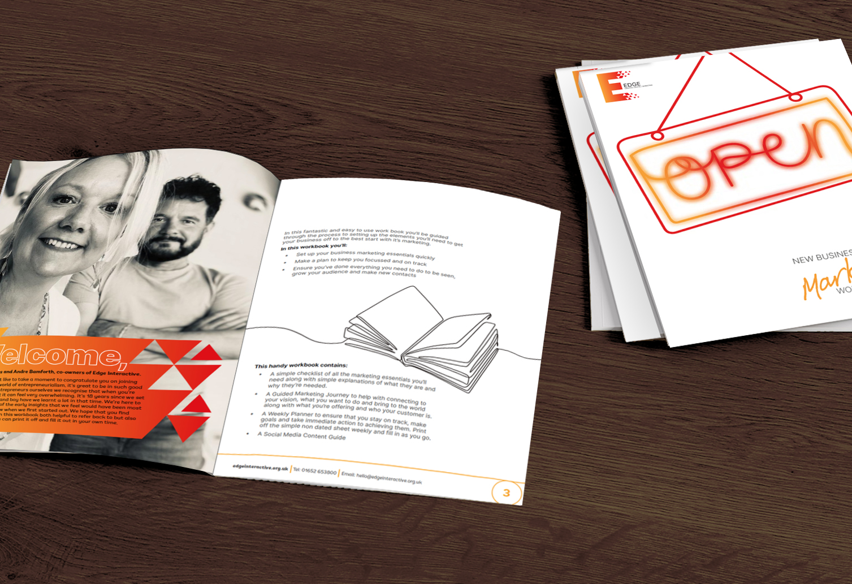 Your FREE New Business Start Up Marketing Workbook