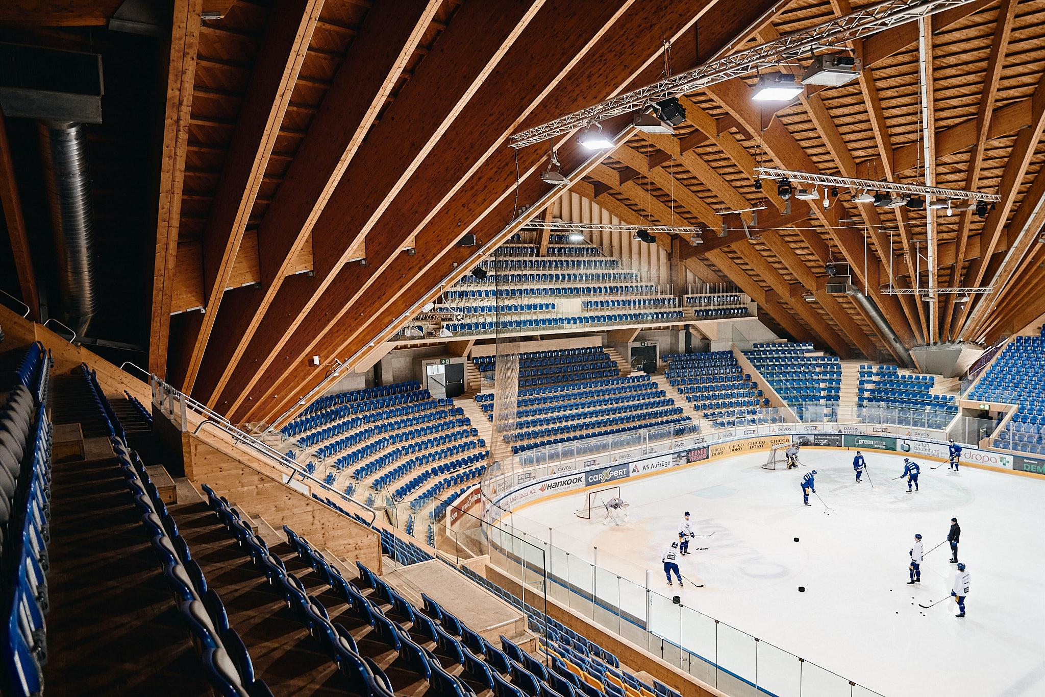 Sanierung – Eishalle Davos
