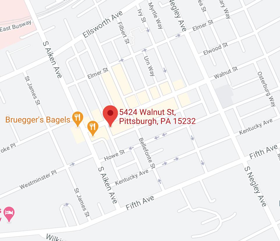 5424 walnut st, pittsburgh, PA 15232
