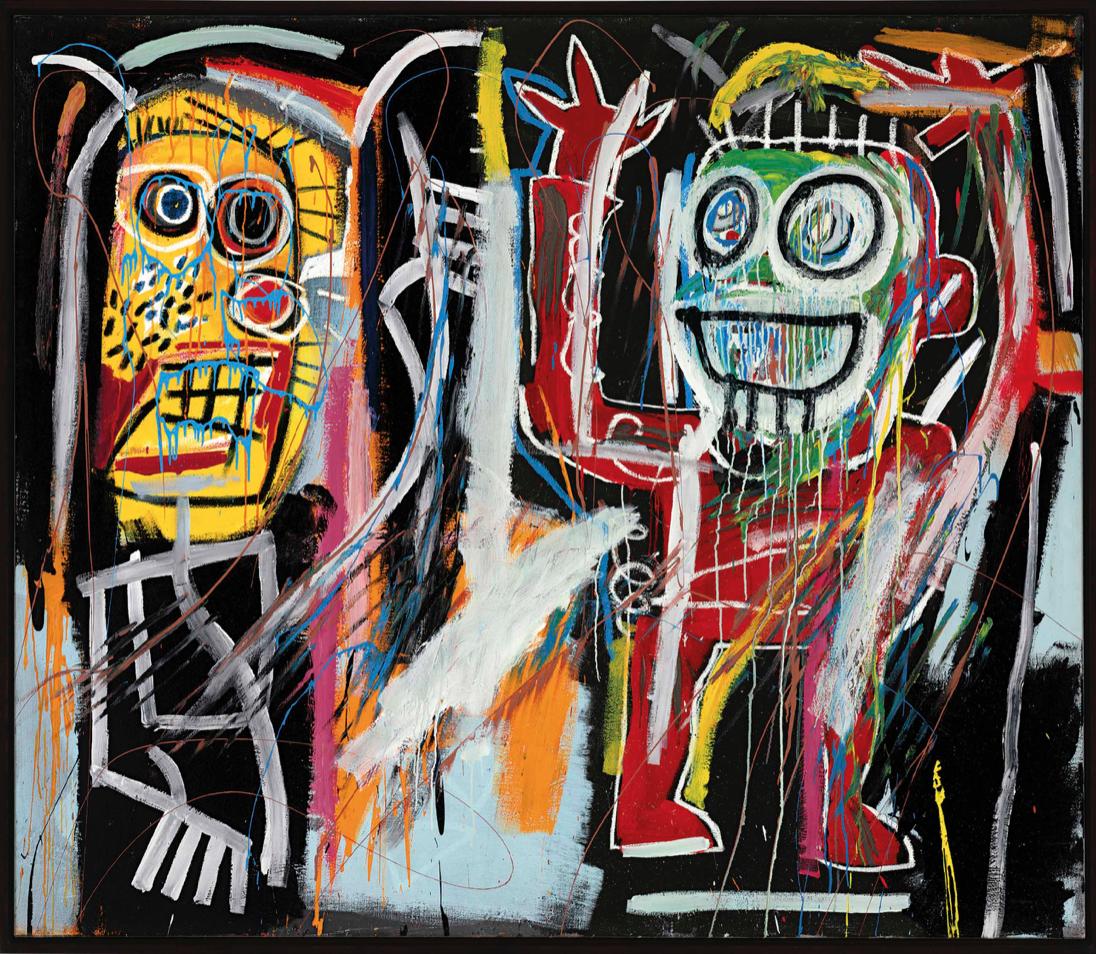 Dustheads by Jean-Michel Basquiat
