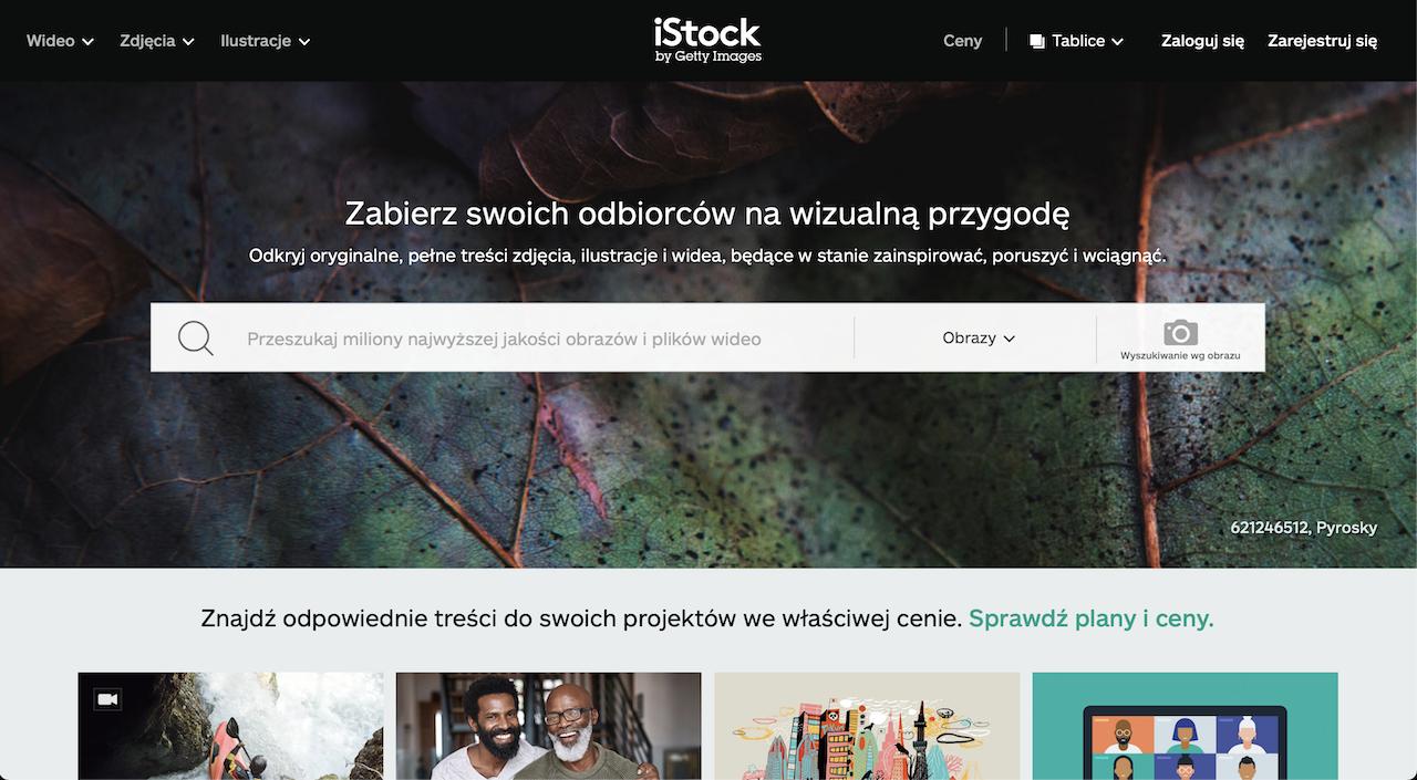 istock photo stock website