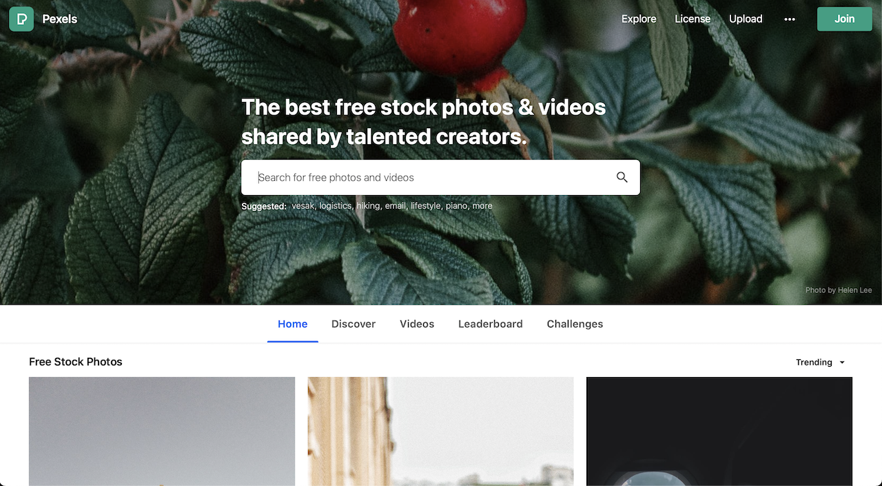 pexels free photo stock website