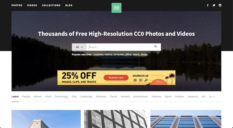 ISO Republic photo stock website
