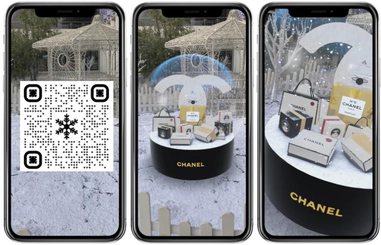 chanel-qr-code-snowglobe-iphone-AR