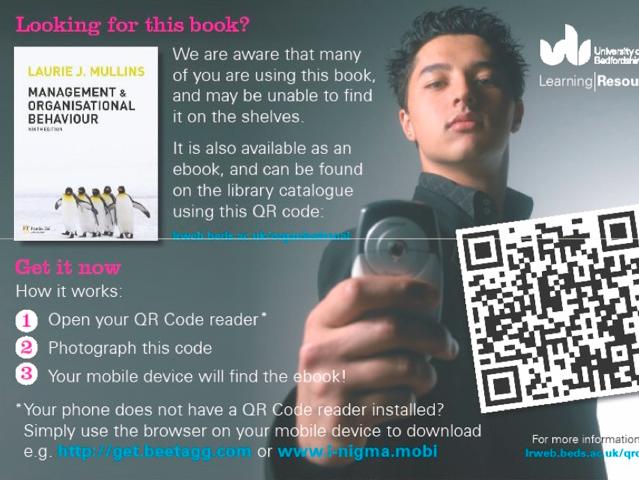 get an ebook by scanning a qr code poster