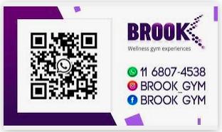 QR code personal training wellness gym facebook banner