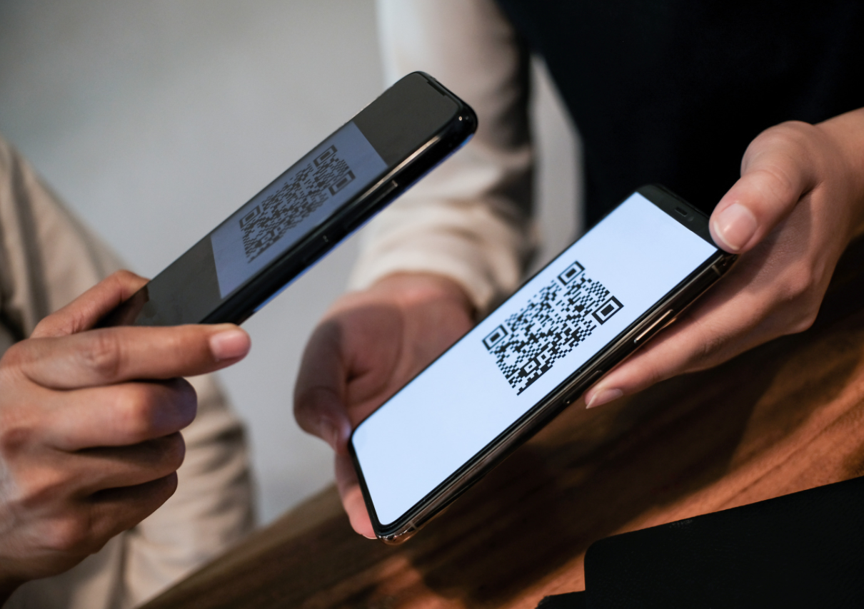 Business QR code payment