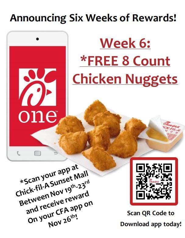 app store QR code chick-fil-a facebook advertisement